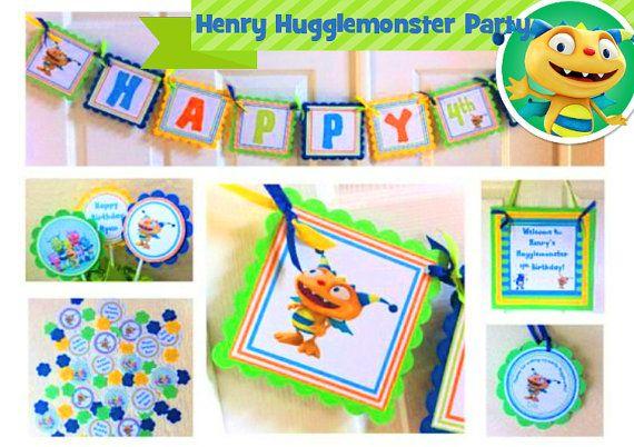 Henry Hugglemonster Party Package