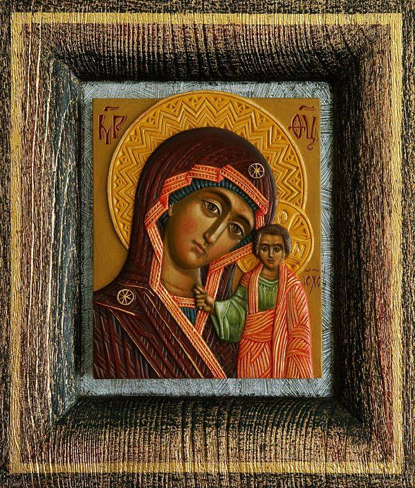 Икона. Казанская Богоматерь