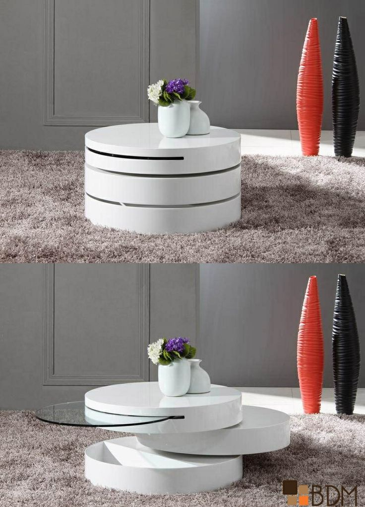 Mesa de centro con varias posiciones con un diseño espectacular. Perfecta para tu interior