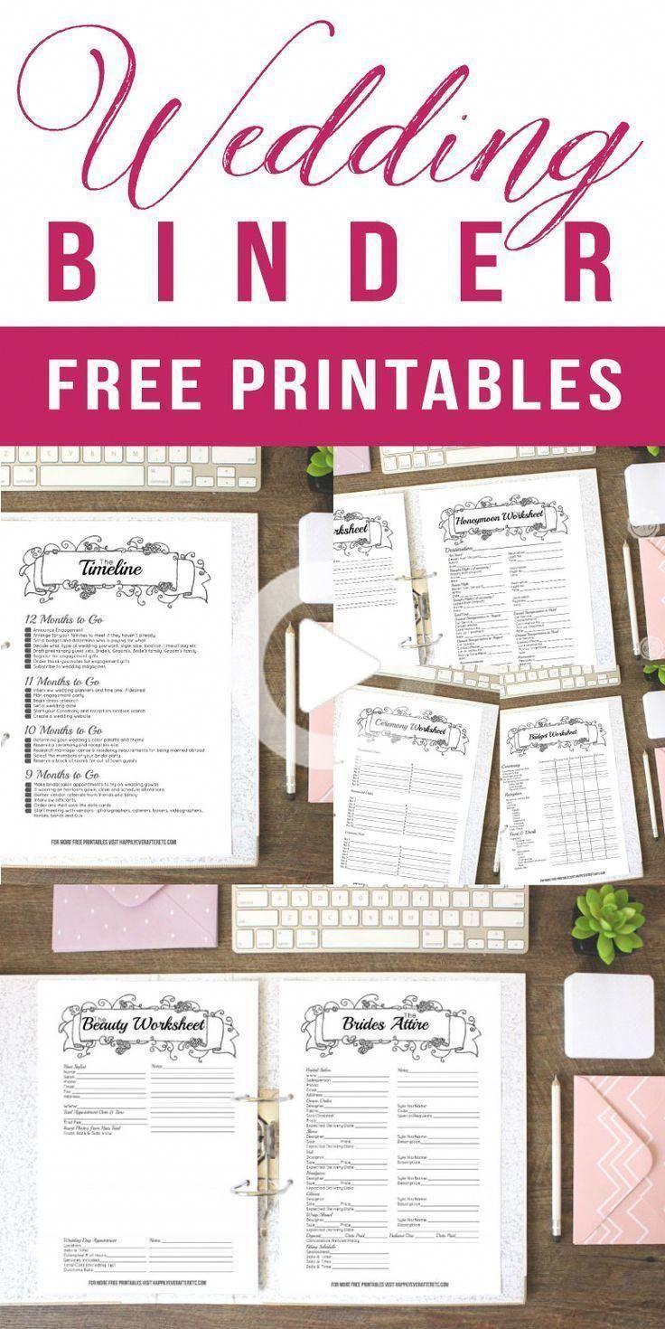 Get Your Wedding Binder Darmowa Wedding Planner Printables Free Wedding Printables Wedding Binder Printables