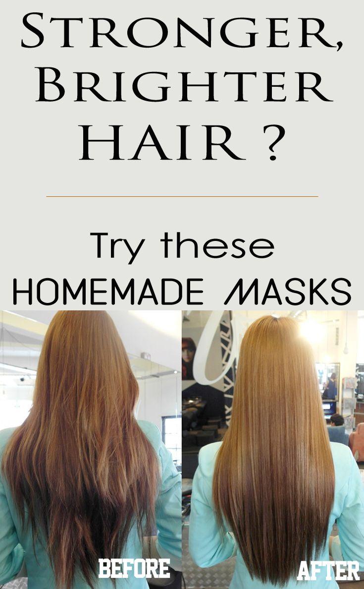 Stronger, Brighter Hair? Try These Homemade Masks