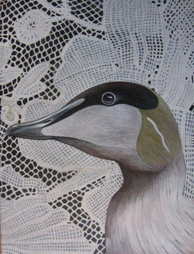 Stella Downer Fine Art - Dealer Consultant & Valuer - Featuring work by Trevor Weekes - The Common Eider