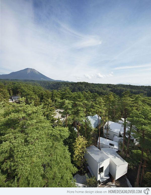 The Unique Contemporary Design of the Daisen Residence in Tottori, Japan