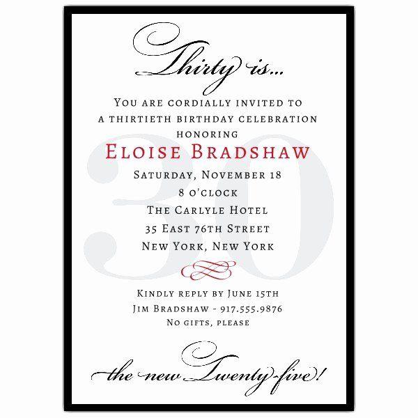 30th Birthday Party Invitation Wording Luxury Classic 30th B Birthday Invitation Card Template Printable Birthday Invitations Birthday Party Invitation Wording