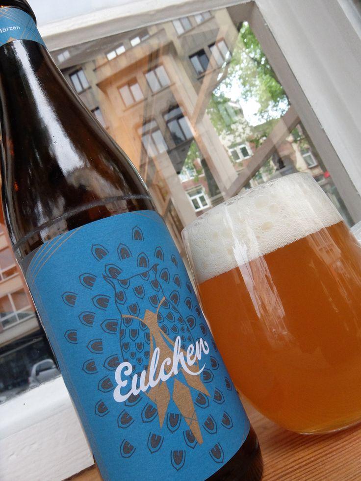 マインツ大学の学生が自らの手で作り出しているビール、Eulchen(オイルヒェン=小さなフクロウ)。 今シーズンのElchenのMärzenbierは 昨年より色がやや淡くなったが、味はさらに洗練されて毎日飲みたくなってしまう程病み付きになる