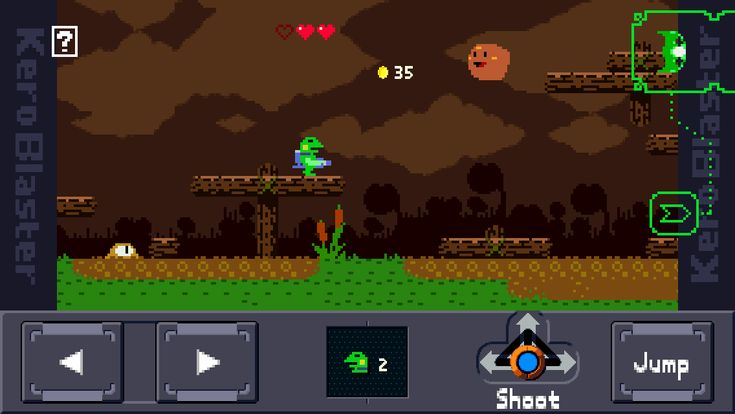 'Kero Blaster' is 'Mega Man' for the iPhone age