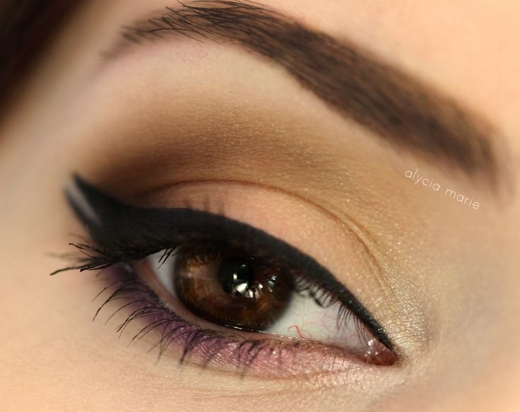 "Simple and sweet this ""Coffee Cup"" look by allysaddiction is great for a day at the office. Using Makeup Geek eye shadows in Corrupt, Drama Queen, Latte, Mocha, and Sensuous."
