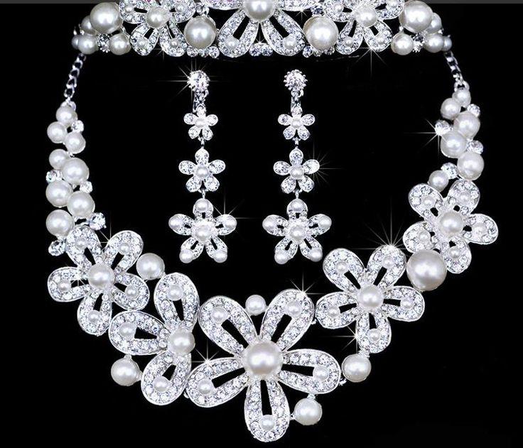 Sparkling Wedding Diamond Necklace