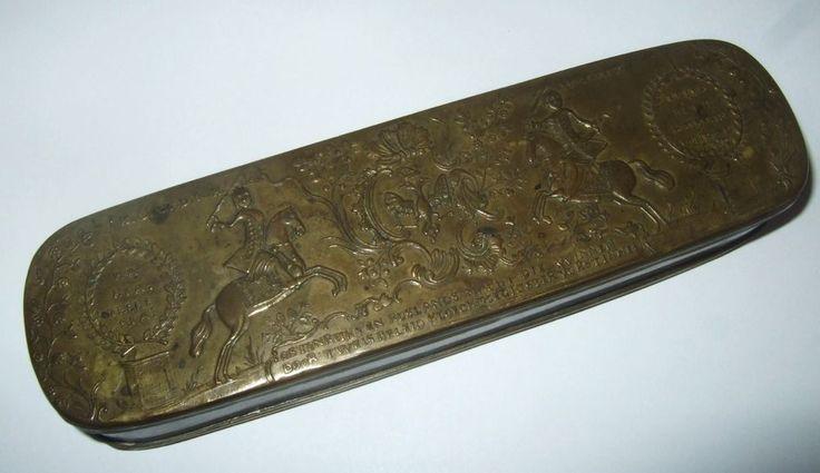 Antike Iserlohner /Elberfelder Tabakdose/Tabatiere ...Original von 1759