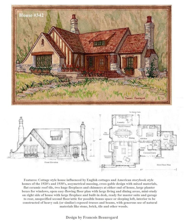 Cassius house plan house plans for Story book house plans