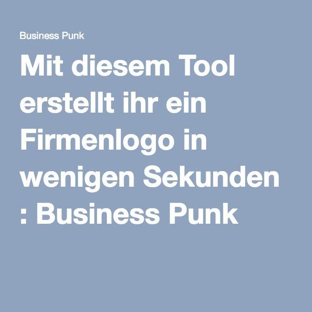 Mit diesem Tool erstellt ihr ein Firmenlogo in wenigen Sekunden : Business Punk