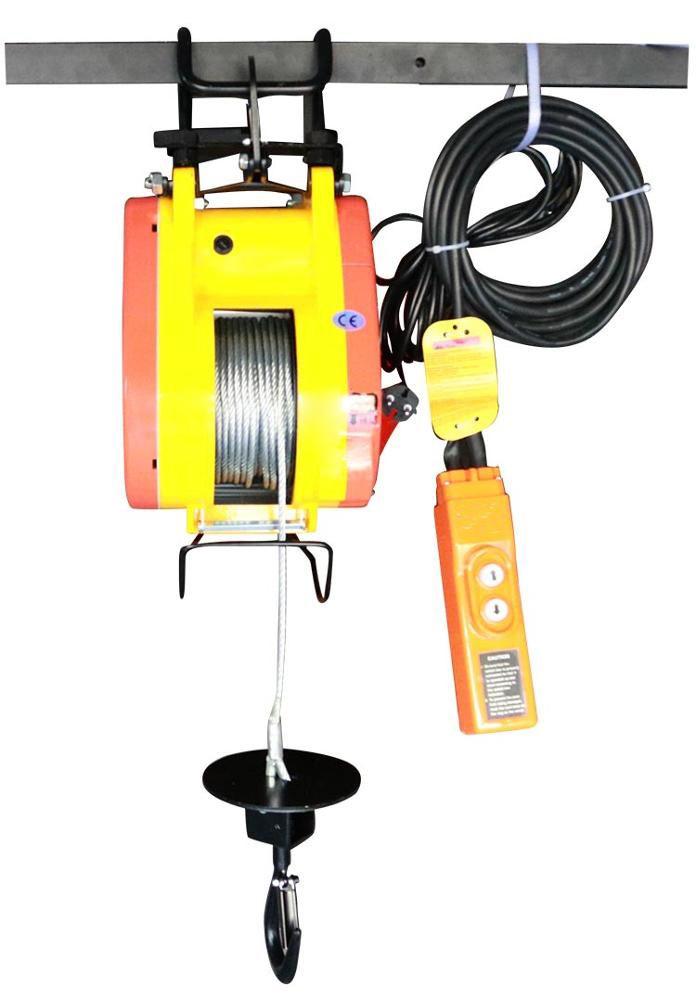 Mini Electric Wire Rope Hoist 500kg Pa600 Building Portable Electric Winch Electric Winch Electricity Electric Hoists