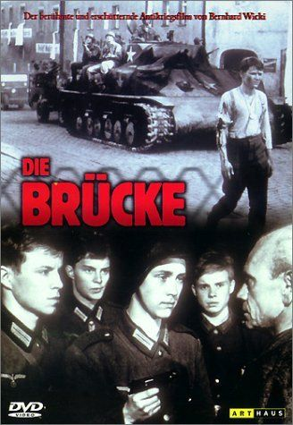 Directed by Bernhard Wicki. With Folker Bohnet, Fritz Wepper, Michael Hinz, Frank Glaubrecht. In 1945, Germany is being overrun, and nobody is left to fight but teenagers.