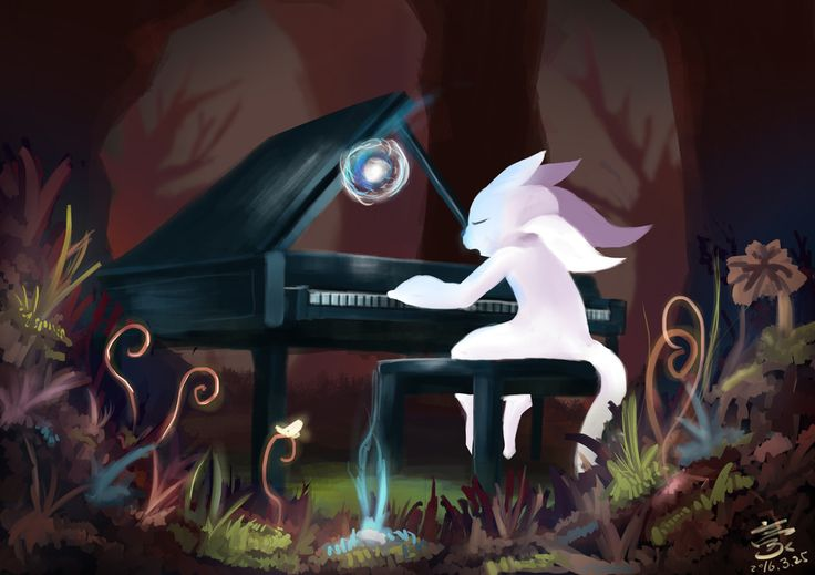 Ori and the Blind Forest fan art by Steam user A,Hao