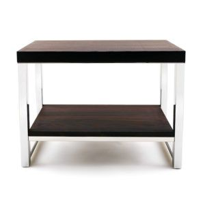 Bench with shelf SME in thermo ash wood