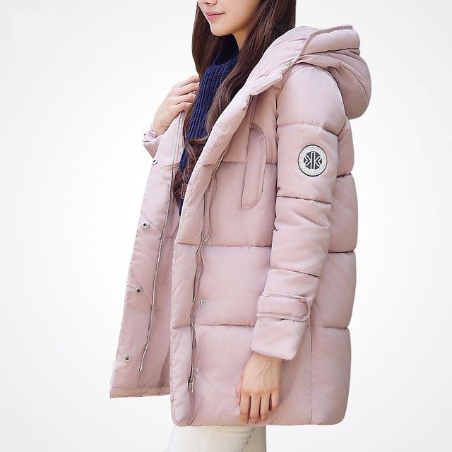 wadded jacket female 2016 new winter jacket women down cotton jacket slim parkas ladies winter coat plus size S-XXXL