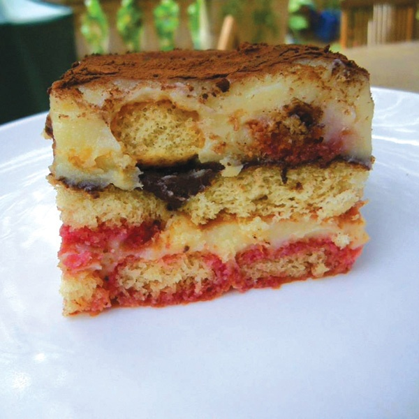 Zuppa Inglese - make this with panettone instead of lady fingers - dust with powder sugar as an alternative