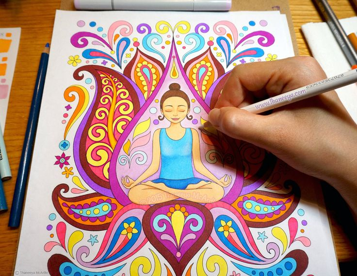 Art From Thaneeya McArdles Follow Your Bliss Coloring Book Amazon