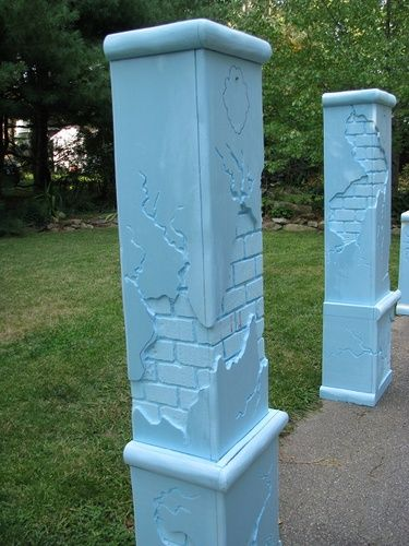 Best images about foam carving work on pinterest