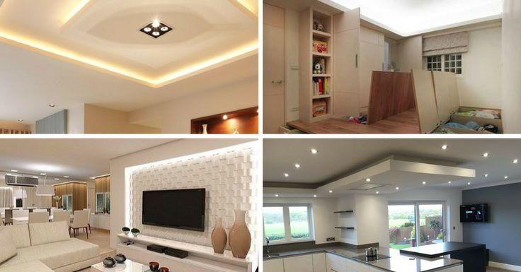 Na hora de escolher uma casa, o teto é um dos elementos tidos como garantido. Normalmente, o padrão é comum, liso e simples, mas, hoje em dia, o teto é cad