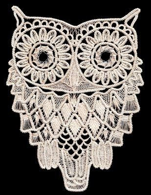 Romanian Point Lace kit - Owl More