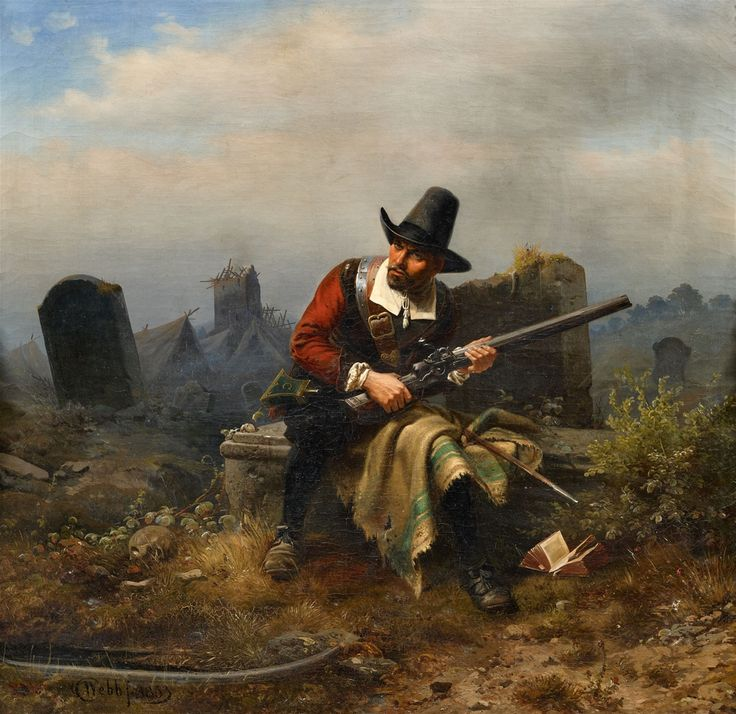 A Soldier of the Thirty Years' War- by Charles Meer Webb,