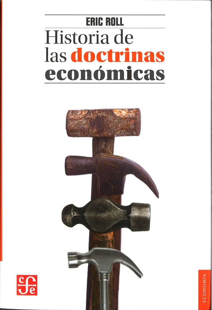 Spanish edition of Eric Roll's the History of Economic Thought received from Fondo de CUltura Economica