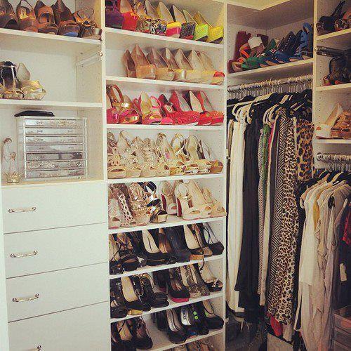 Celebrity closets <3<3Bedrooms Closets, Room Inspiration, Closets Organic, Nyc Closets, Dresses Room, Closets Inspiration, Storage Ideas, Shoes Racks, Dreams Closets