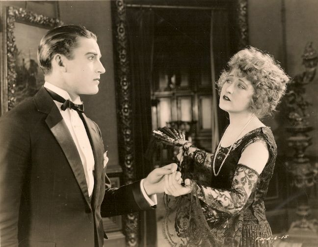 Still From The 1923 Silent Film The Face On The Barroom Floor. The Film Is
