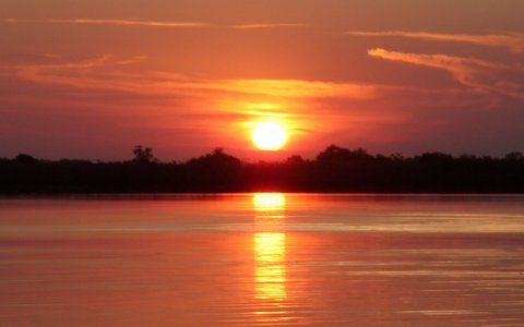 Jenny's Botswana Educational - Botswana sunset