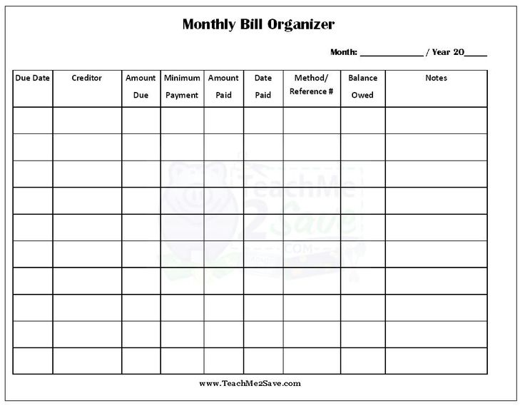 Marva Johnson (marvaj20) on Pinterest - monthly time sheet calculator