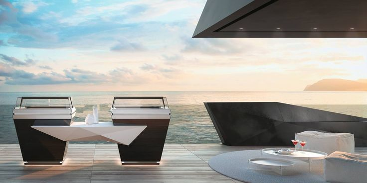 JOBS gives you the chance to freely express the best design for your place, without any other superstructure as bases, plinths and motors.. #orionstyle #orionjobs #thinklateral #foodservice #furniture #horeca #showcase #displaycabinet #vetrina #product #design #render #inspiration