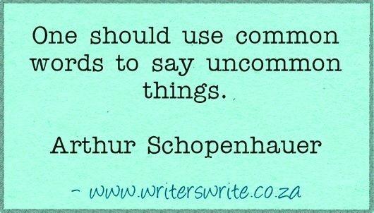 Quotable - Arthur Schopenhauer - Writers Write Creative Blog