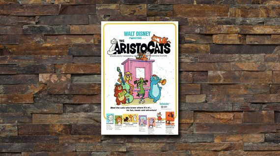 Disney The Aristocats Movie Poster - #0151