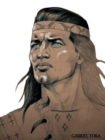 winnetou indianer rare fan art tora 2015 pierre brice