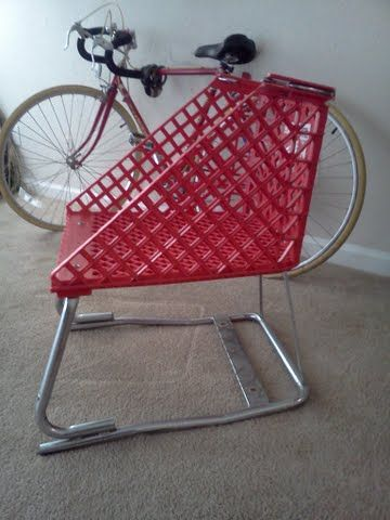 Shopping Cart Furniture - The Lounge Chair - click for step-by-step instructions on how to Do It Yourself, you shouldn't buy it, you should build it!