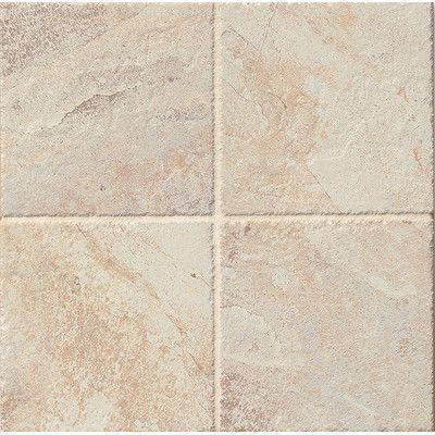 "Bedrosians Rok 6.5"" x 6.5"" Porcelain Field Tile in Calcare"