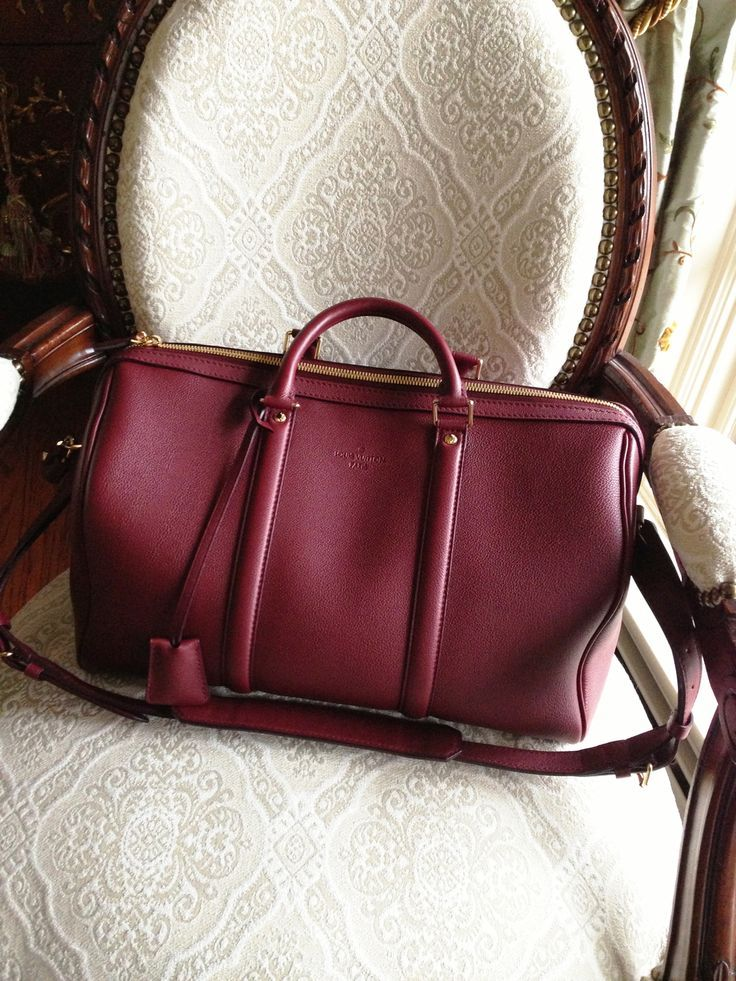Louis Vuitton SC BAG PM Red Shoulder Bags Is Favored By Huge Number Of Customers Around The World!