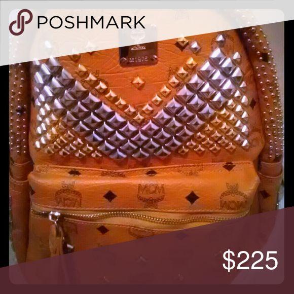 McM bookbag Leather Munchkin Other