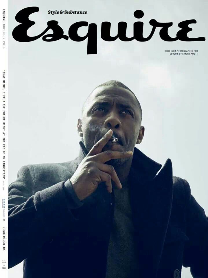 Idris on the cover of French Esquire
