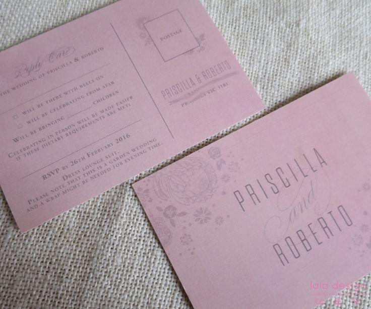 Priscilla & Roberto RSVPs