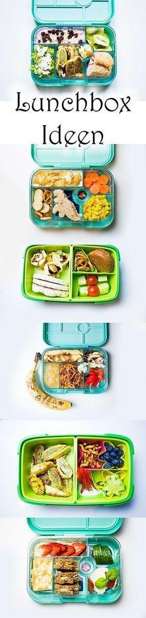 Lunchbox Ideen für Kindergarten- und Schulkinder   Brotdosen für den Ausflug oder das Picknick   Vielleicht auch das perfekte Schulbrot?