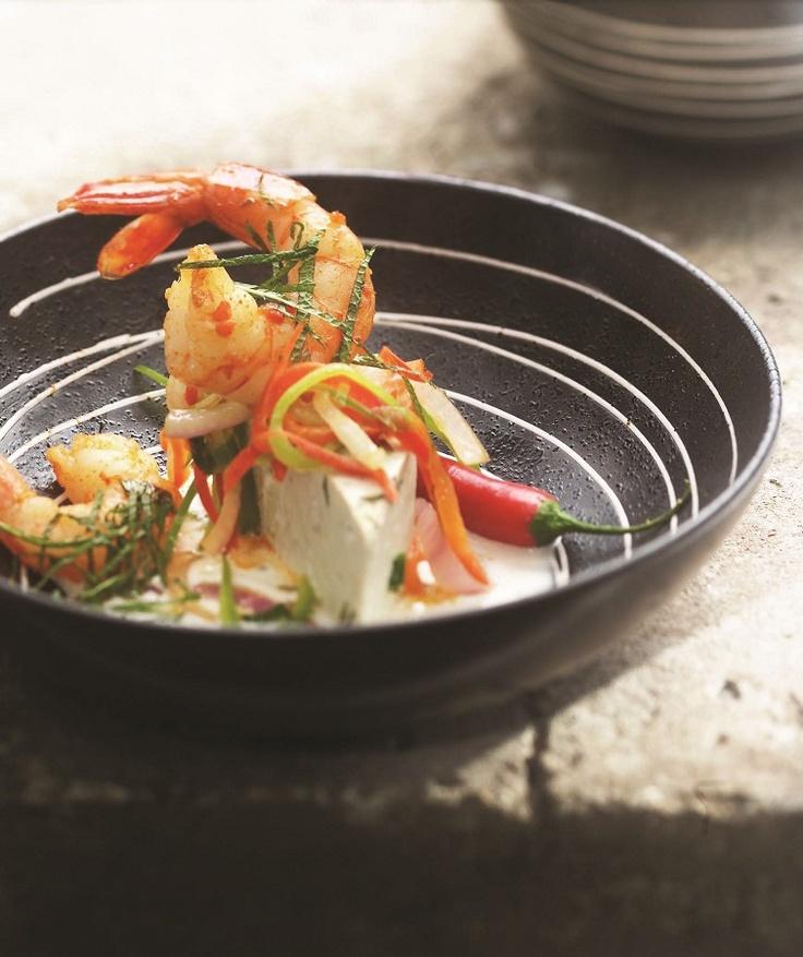 Thai Shrimp - Crevettes à la thai
