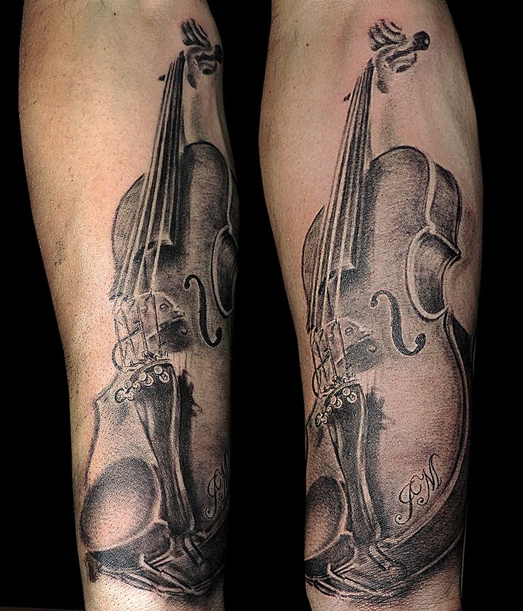 17 Best Ideas About Violin Tattoo On Pinterest