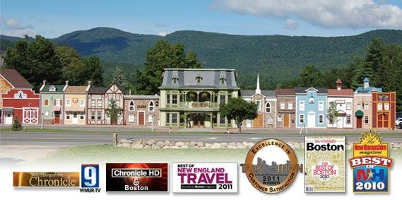 Adventure Suites Hotel, North Conway, NH - we stayed here when we rode to Mt. Washington
