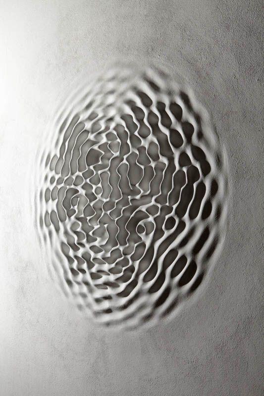 #MarDeMareas Loris Cecchini | Wallwave vibration (ears particle tingles), 2012 Interesting.. .....AJ