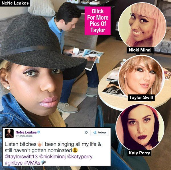NeNe Leakes Calls Katy Perry, Nicki Minaj & Taylor Swift 'Bitches' For Fighting