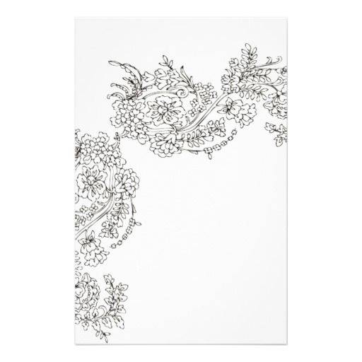Vintage Lace Tattoo Look Stationery | Zazzle