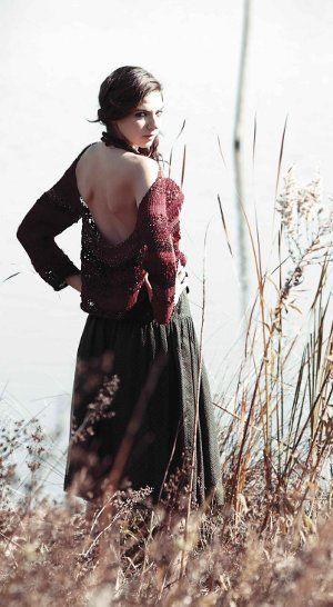 Goddess Camino Pullover: Free Knitting Pattern