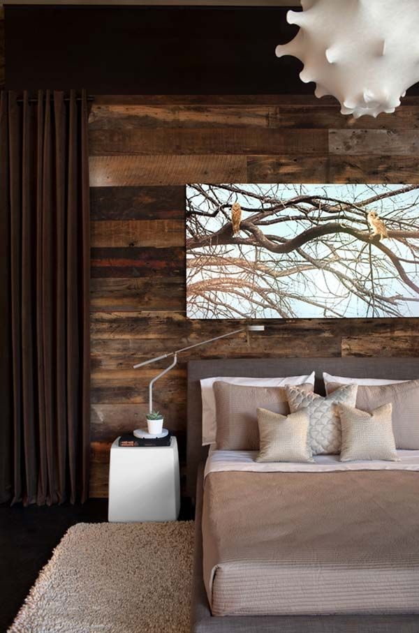 Living Room Decorating Ideas With Feature Walls 39 best wood feature bedrooms images on pinterest | bedroom